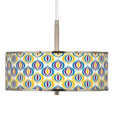 "Scatter Giclee Glow 16"" Wide Pendant Light"