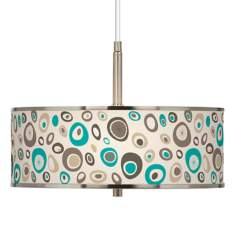 "Stammer Giclee Glow 16"" Wide Pendant Light"