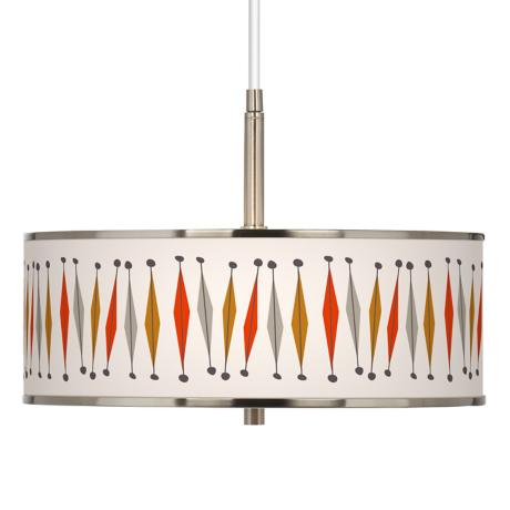 "Tremble Giclee Glow 16"" Wide Pendant Light"