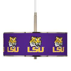 "Louisiana State University 16"" Wide Pendant Light"