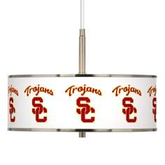 "USC Trojans 16"" Wide Pendant Light"