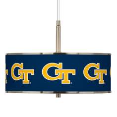 "Georgia Tech 16"" Wide Pendant Light"