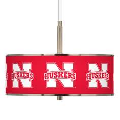 "Nebraska Huskers 16"" Wide Pendant Light"
