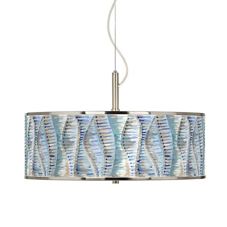 "Siren Giclee Glow 20"" Wide Pendant Light"