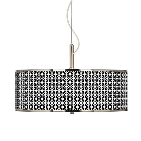 "Matrix Giclee Glow 20"" Wide Pendant Light"