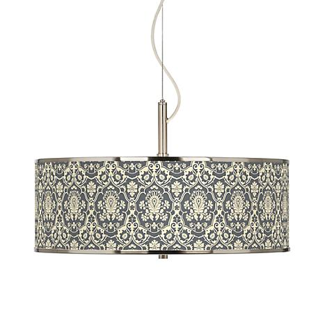 Seedling By Thomaspaul Damask 20 Quot Wide Pendant Light
