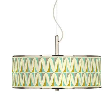 Vernaculis I Giclee Glow 20 Quot Wide Pendant Light T6343