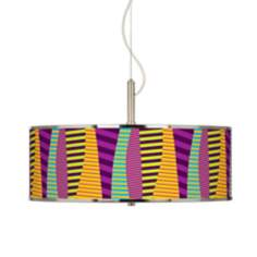 "Mambo Giclee Glow 20"" Wide Pendant Light"