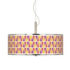 "Hinder Giclee Glow 20"" Wide Pendant Light"