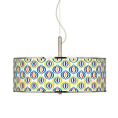 "Scatter Giclee Glow 20"" Wide Pendant Light"