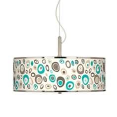 "Stammer Giclee Glow 20"" Wide Pendant Light"