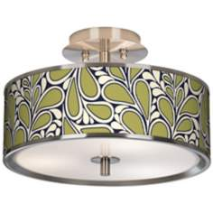 "Stacy Garcia Rain Metal Giclee Glow 14"" Wide Ceiling Light"