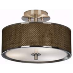 "Interweave Giclee Glow 14"" Wide Ceiling Light"