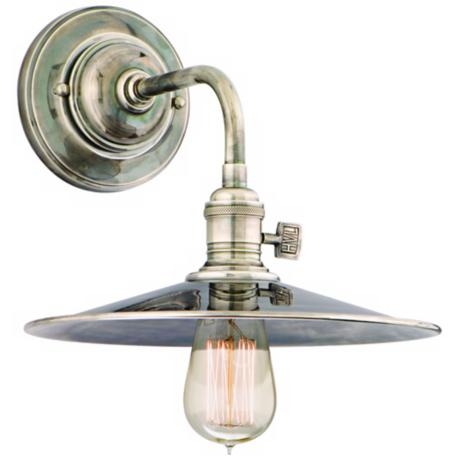 Heirloom Historic Nickel Wall Sconce