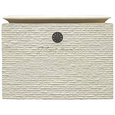 Dune White Finish Locking Mailbox