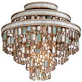 "Dolcetti 18"" Wide Corbett Flushmount Ceiling Light"