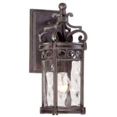 "Regal Bay 12 1/2"" High Outdoor Wall Light"