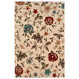 Durand Collection Sarabeth Ivory and Green Area Rug