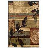 Langham Collection Apenine Ivory and Green Area Rug