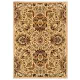 Langham Collection Corinne Ivory and Green Area Rug