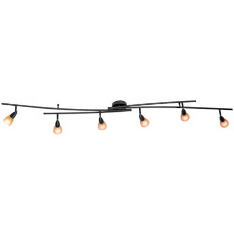 Iris Oil-Rubbed Bronze 6-Light Track Fixture