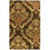 Natural Wool Collection Talmont Mocha Area Rug
