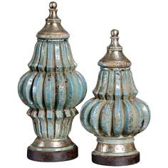 Set of 2 Uttermost Fatima Urns