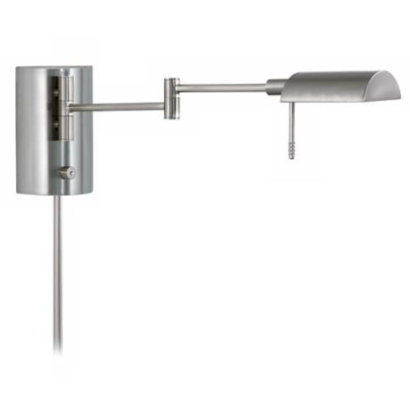 Sonneman D-Lite Satin Nickel Swing Arm Wall Light