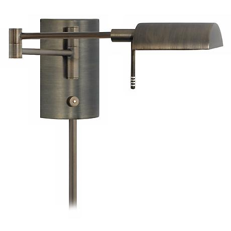 D-Lite Europa Bronze Swing Arm Wall Light