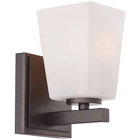 "Minka Lavery City Square Collection 7"" High Wall Sconce"