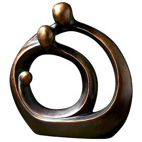 "Uttermost Family Circles 14"" High Decorative Accent"