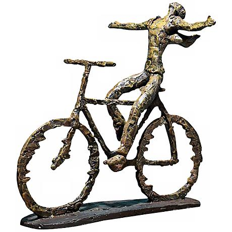 "Uttermost Freedom Rider 15"" Wide Statue"