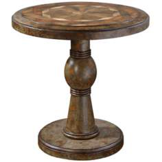 Uttermost Amaiah Antiqued Lamp Table