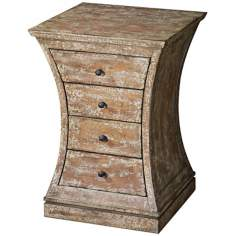 Uttermost Avarona Distressed Birch Accent Chest
