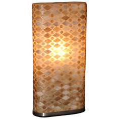 "Griffen Fish Scale 24"" High Table Lamp"