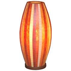 "Sedona Mosaic Fiberglass 20 1/2"" High Table Lamp"