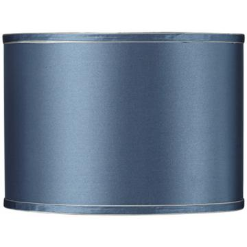 A Blue Drum Lamp Shade Photo