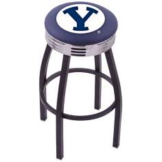 Retro Brigham Young University Counter Stool