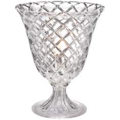 Cut Crystal Urn Accent Lamp