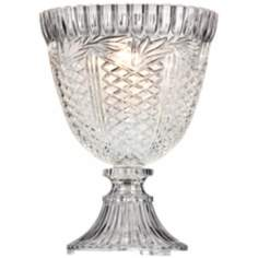 Traditional Glass Urn Accent Lamp