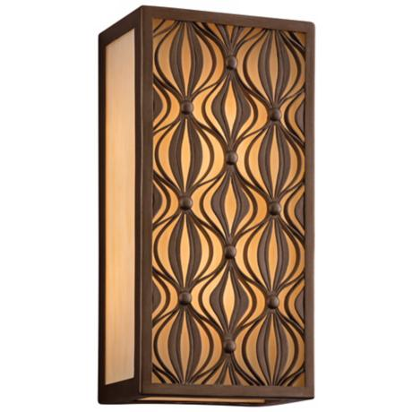 "Corbett Mambo Collection 16"" High  2-Light Wall Lantern"