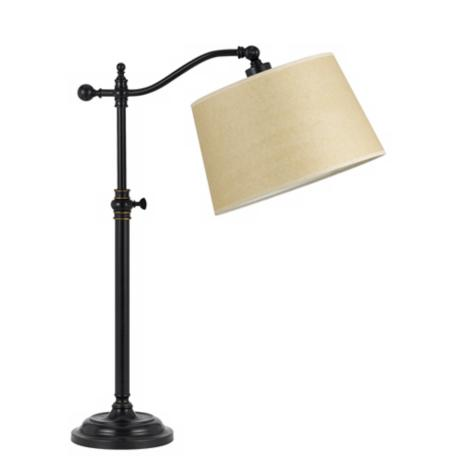 Dark Bronze Finish Adjustable Downbridge Desk Lamp