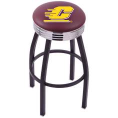 Retro Central Michigan University Counter Stool