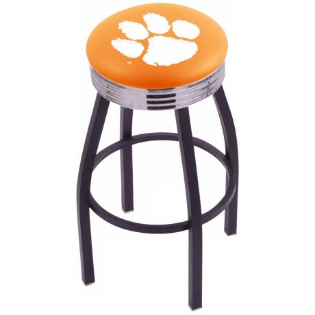 Retro Clemson University Counter Stool