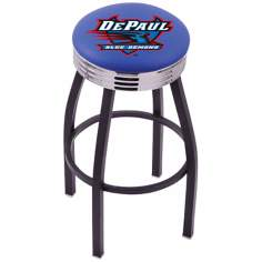 Retro De Paul University Counter Stool
