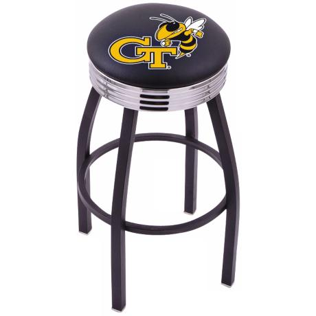 Retro Georgia Institute of Technology Counter Stool