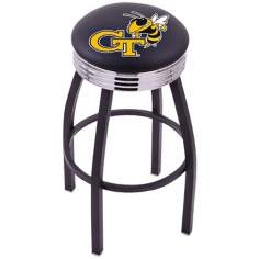 Retro Georgia Institute of Technology Barstool