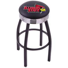 Retro Illinois State University Counter Stool
