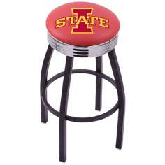 Retro Iowa State University Counter Stool