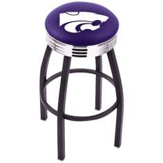 Retro Kansas State University Counter Stool